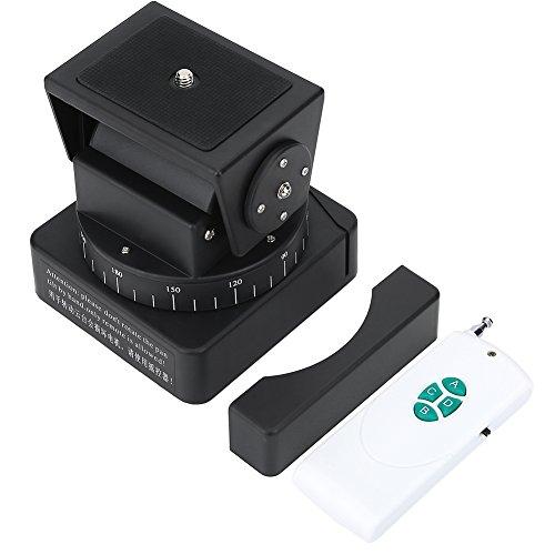 EBTOOLS KameraSchwenkkopf Motorisierte mit Fernbedienung für Smartphones (Schwarz)
