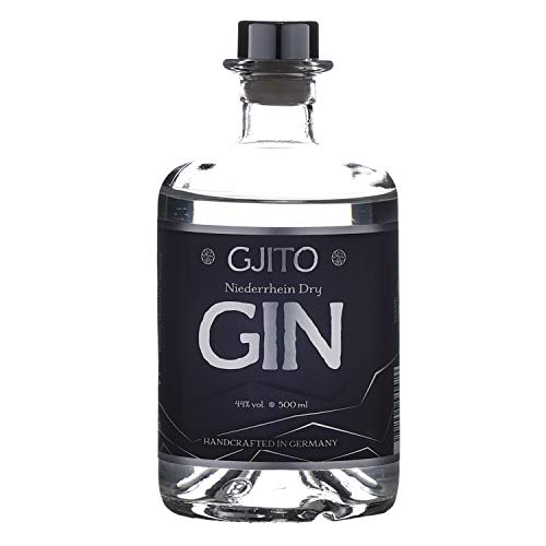GJITO Niederrhein Dry Gin - Premium Made in Germany - Original London Dry Gin - Manufaktur am Niederrhein (0,5 L / 44{7a7f3f4a4b4a8197c33acb703c6e1227142a56560dcdb15ff37403708f608229} VOL) - Zitrus Note