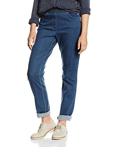 Raphaela by Brax Damen Slim Jeanshose 10-6220 Pamina, Gr. W27/L32 (Herstellergröße: 36), Blau (STONED 25)