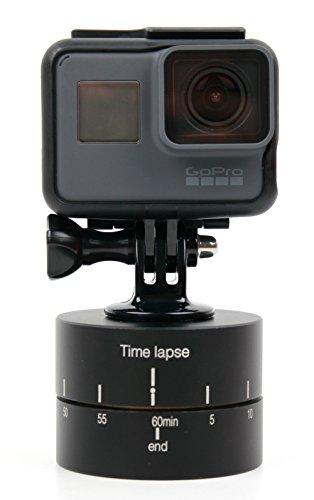 Galleria fotografica Supporto Time Lapse Per GoPro Hero5 Black / Session | Hero4 | Hero 3 / 2 + Adattatore - Girevole 360º - DURAGADGET