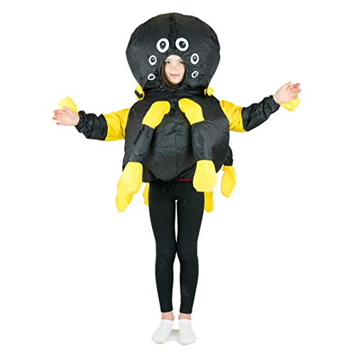 Kostüm Insekten Kinder - Bodysocks® Inflatable Spider Costume (Kids)