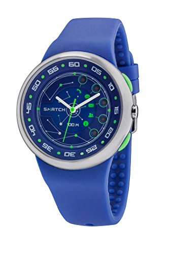 SMATCH Hybrid Watch (Blu)