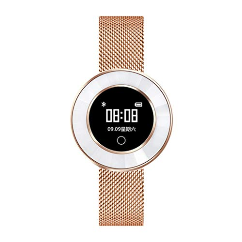 MObast Mode Smartwatches Fitness Schwimmen Wandern Uhr IP68 für IOS 8.0 und Android Metall Band
