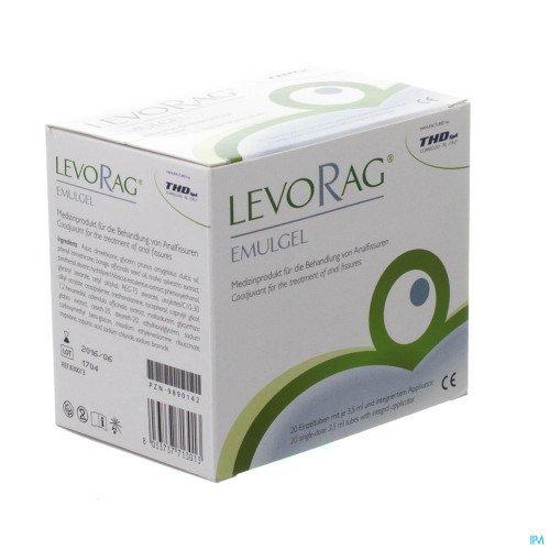 LEVORAG EmulGel Einzeltuben mit je 3,5 ml 70 ml Salbe