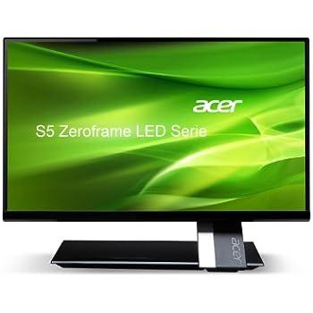 Acer S235HLBBMII 23-inch Monitor 16:9 FHD ZeroFrame IPS LED CrystalBrite 6 ms 100M:1 HDMIx2 MM Acer EcoDisplay