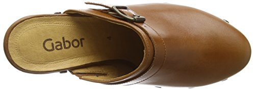 Gabor - Mirabel, Zoccoli Donna Marrone (Brown (Brown Leather))