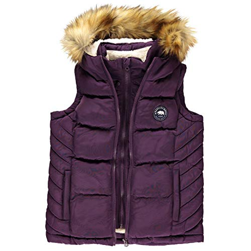Soul Cal Girls Quilted Gilet