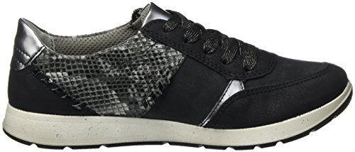 Jenny Ladies Glendale Sneaker Black (nero, Nero / Fucile)