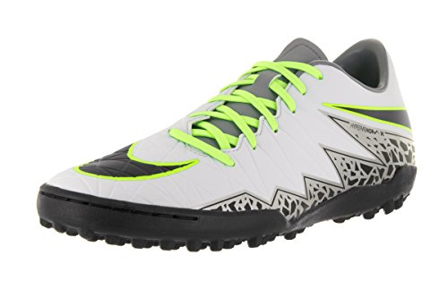 Nike Hypervenom Phelon Ii Tf, Scarpe da Calcio Uomo Plateado (Plateado (pure platinum/black-ghost green))