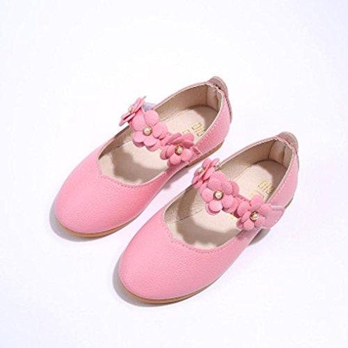 Clode® Kinder Schuhe Mädchen Mode Blumen Kid Schuhe Solid Alle Match Casual Schuhe Rosa