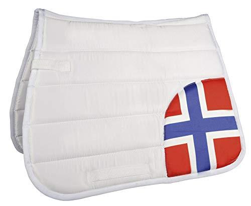 HKM Schabracke Flag corner Flag Norway Dressur