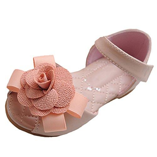Les filles sandales strappy été chaussures de sport sandales chaussures plage sandales spartiates chaussures de princesse flip-flops sandales enfants espadrilles Chaussures ballerine De Scothen Rose
