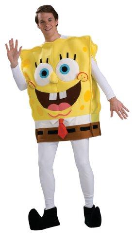 Rubbies-Spongebob Kostüm für Herren, Einheitsgröße - Spongebob Schwammkopf Und Patrick Kostüm