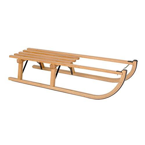 ScSPORTS Davoser Holzschlitten, holz, 110 cm, 50W0014 auf Amazon