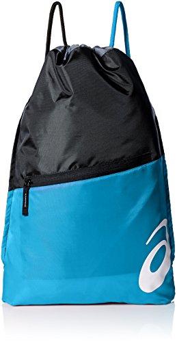 ASICS Erwachsene Tm Cinch Ii Bag Tasche Black/Atomic Blue, Einheitsgröße -