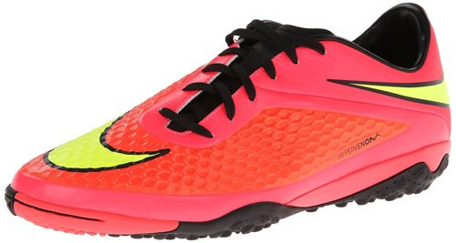 Nike Hypervenom Phade Tf, Chaussures de Football Homme Rouge - Rouge