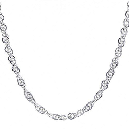 XLYWH Damen Halskette Simpel Chian Halskette Armband Fit Frauen Perlen Charme