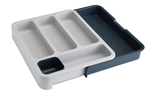 Joseph Joseph Drawer Store with Cutlery Tray - Dark Grey