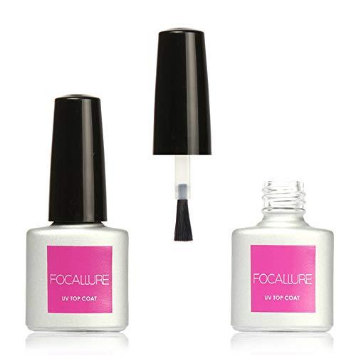 feiXIANG 7ml TOP Coat Soak Off pour UV LED Manucure polonaise gel pour les ongles