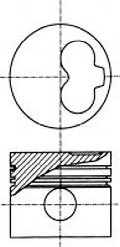 Preisvergleich Produktbild Nüral 87-990100-40 Kolben