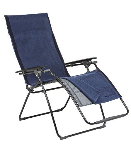 Baumwolle Schonbezug Kopfteil (Lafuma Frotteeauflage für alle Relax-Liegestühle, 100% Baumwolle, 60x180 cm, Ocean (Blau), LFM2662-2984)