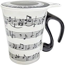 Giftgarden TAZA de café de signo músico con tapa