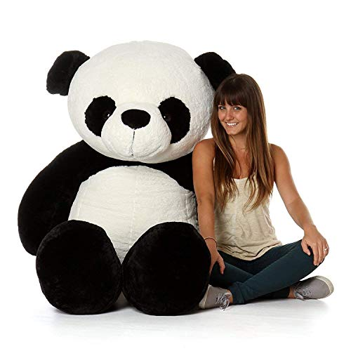 GVMC Soft 3 Stuff Cute Panda Teddy Bear, 91cm (White and Black)