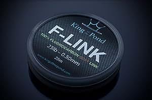 F- Link fluorocarbon stiff link boom material 25lb - 050mm, 25m