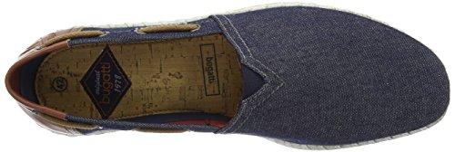 K44656 Uomo jeans Da Ginnastica Basse 455 Bugatti Blu Scarpe SxrzSwq4