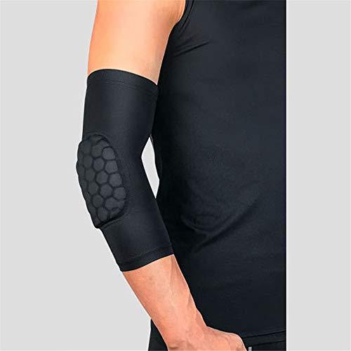 WXQQ Sport EllenbogenbandageEllenbogenbandage - Ellenbogenschoner | atmungsaktive Ellenbogenorthese für Damen und HerrenBlack