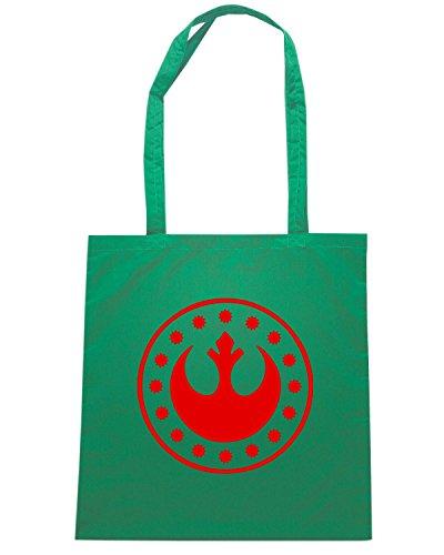 T-Shirtshock - Borsa Shopping FUN0472 3147 new republic emblem 56275 Verde