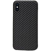 Echt Carbon Schutz Hülle Cover Case für das iPhone X (zehn) mit 100% Sende- und Empfangsleistung, passgenau mit präzisen Ausschnitten, ultraleicht