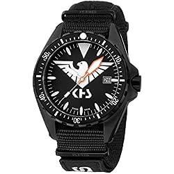 KHS Tactical Watches MissionTimer 3   Eagle One KHS.MTE.NXT7 Militär Armbanduhr