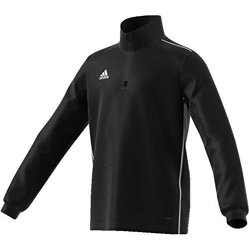 adidas Kinder CORE18 TR Y Sweatshirt CORE18 TR Y CE9028, Schwarz (Black/White), 176 (Herstellergröße: 176) -
