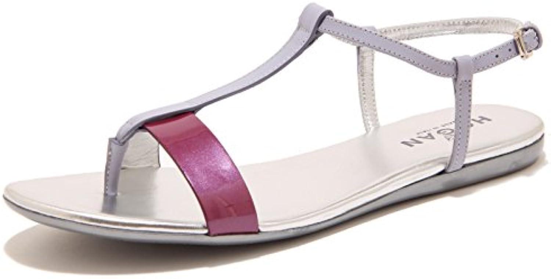 7037F sandalo infradito HOGAN VALENCIA LISTINI scarpa ciabatta donna scarpe scarpe scarpe donna   Delicato  0edcd2