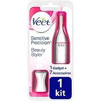 Veet Sensitive Precision - Beauty Styler - rasoir électrique femme - maillot et sourcils  [packaging français]
