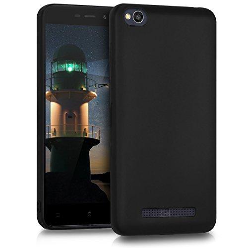 kwmobile Xiaomi Redmi 4A Hülle - Handyhülle für Xiaomi Redmi 4A - Handy Case in Schwarz matt