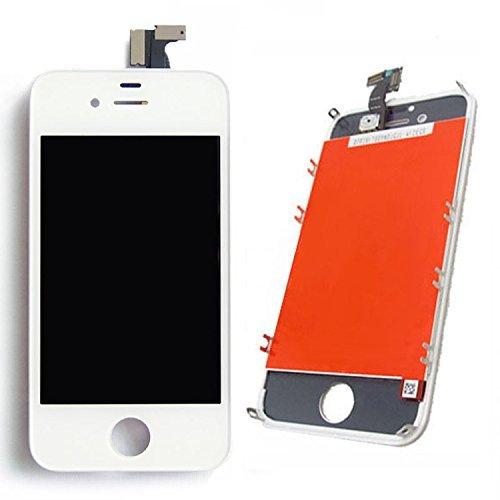 Pantalla Táctil LCD Digitalizador Recambio y Marco Frontal para iPhone 4S (Blanco)