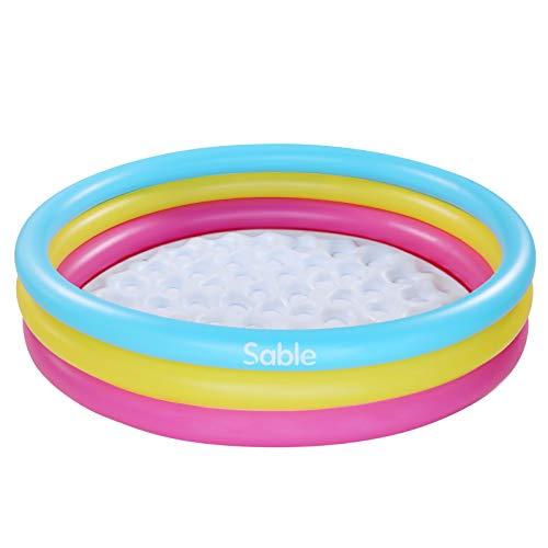 Sable Aufblasbarer Swimmingpool Kinder Wassersport mit Zwei Luftventilen