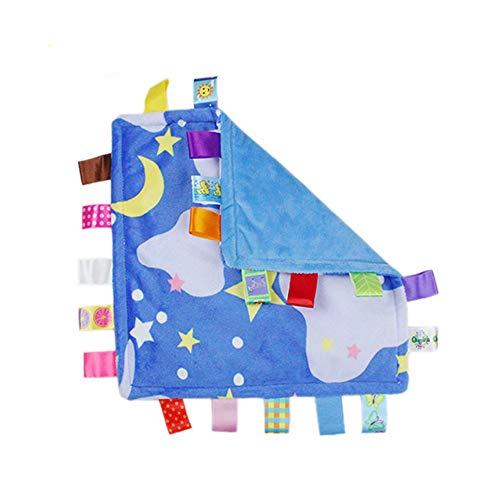 lustiges Spielzeug, ALIKEEY 30cm Säuglings-Baby-weicher Schlaf-beruhigendes Tuch-Sicherheits-Decken-Handtuch-Spielzeug