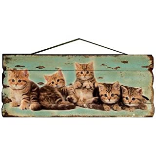 The Kittens Wall Plaque