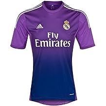 2013-14 Real Madrid Adidas Home Goalkeeper Shirt