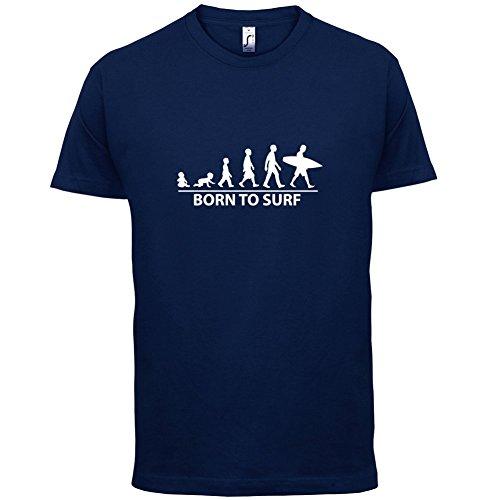 Born To Surf - Herren T-Shirt - 13 Farben Navy
