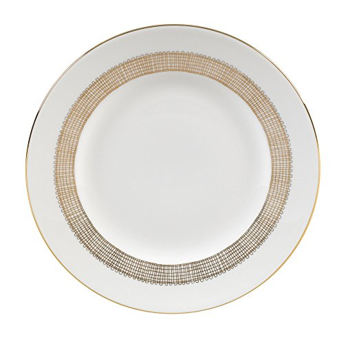 Wedgwood Gilded Weave Rim Soup Plate, 9
