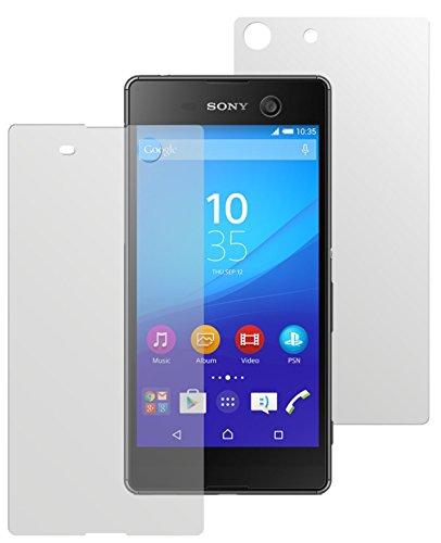 dipos I 6X Schutzfolie matt passend für Sony Xperia M5 Folie Bildschirmschutzfolie (3X Vorder- und 3X Rückseite)