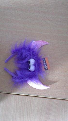 Flauschig devil monster stirnband mit google augen & hörner schickes (Google Halloween)