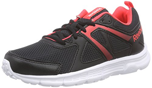 Reebok - Run Supreme, Sneakers da donna Nero (Schwarz (Black/Neon Cherry/White))
