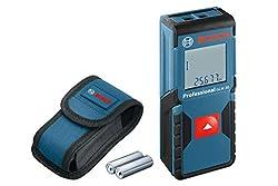 Bosch Professional Laser Entfernungsmesser GLM 30 (2x AAA Batterien, Messbereich: 0,15 - 30 m, in Schutztasche)