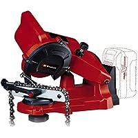 Einhell GE-CS 18 Li Solo - Afilador Power X-Change para cadenas de motosierra, 18V, ralentín 6500 min-1 (ref. 4499940)