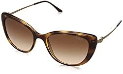 Vogue Gradient Cat Eye Womens Sunglasses - (0VO5147IIW6561355|55|Brown Gradient Color)